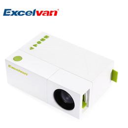 Excelvan mini projecteur led en Ligne-Excelvan YG310 Projecteur LCD Portable HD 800Lumen 320 x 240 P 1080P AV USB HDMI Vidéo Mini Projecteur LED Smart Home Theater