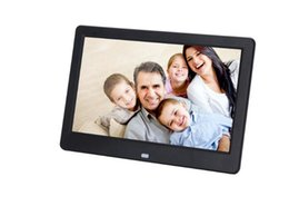 Wholesale Mp4 Video Quality - 10 inch DPF Digital Photo frame birthday gift Christmas present DHL free shipping high resolution good quality