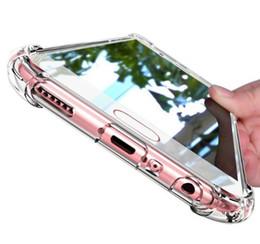 Klare silikon handy fällen online-Super Shockproof Klare Silikonhülle Für Samsung Galaxy S8 S9 Plus Note 8 Handy Abdeckung Für Samsung S8 Samsung S8Plus