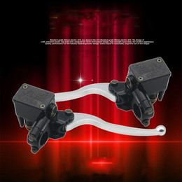 Wholesale Electric Scooters Brakes - Electric Motorcycle Scooter Front and Rear Disc Brakes Pumps, Pumps, Tubing Accessories Brake Sensitive, Super Durable Durable