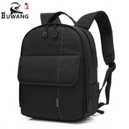 Wholesale Outdoor Raincoats - Brand New Professional DSLR Camera Backpack Outdoor Photography Waterproof Camara Bag Front Pocket Big Capacity Raincoat Gift.