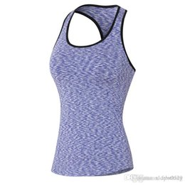 2d3e3b2b12c 2018 New Women Quick Dry Sleeveless Shirts Fitness Exercise Training  Athletic Vest Running Workout Sports Yoga Tank Tops Gym tank tops f01