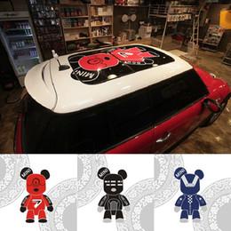 Sticker Cool Car Cartoon Bear Autocollant pour Mini Cooper F56 F55 F60 R55 R56 Autocollant De Style Extérieur Auto ? partir de fabricateur