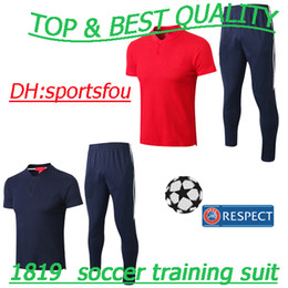 thailland 2018 World Cup france Polo shirt soccer jersey MBAPEE POGBA  Football Uniforms Sport wear Football Uniforms Sportwear tracksuit france  jersey world ... dd038168e