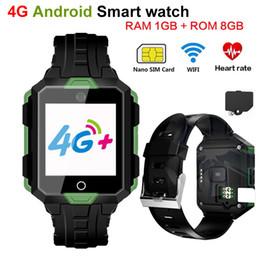 Wholesale Battery Oxygen - 4G Smart watch M9 Android 6.0 1G RAM 8G ROM Waterproof 850mAh Battery Long Standby WIFI Smartwatch Heart Rate Blood pressure Video Bracelet