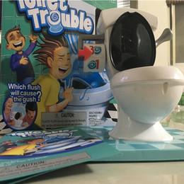 PROBLEMAS DE INODORO Explosiones aerosol de tocador complicado base de inodoro juego inodoro juegos para computadora de escritorio interactivo para niños y niñas juguetes para toda la t desde fabricantes