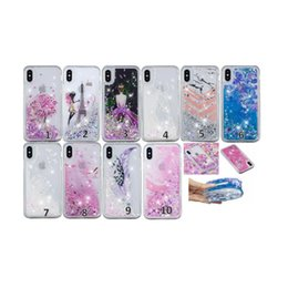 tower pro Coupons - Dreamcatcher Liquid Soft TPU Cases For One Plus 6 Huawei P20 Pro Lite Y6 2018 Eiffel Tower Bling Glitter Quicksand Flower Marble Fairy Cover