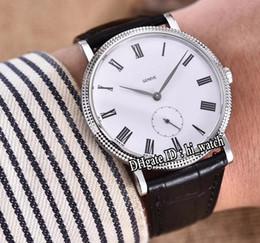 roma black Desconto Melhor edição calatrava 5119g-001 caixa de aço mostrador branco preto grande Roma marca cal.215ps automático mens watch safira relógios de couro preto a1