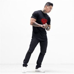 Wholesale Gym T Shirts For Men - Latest shirt designs for men 100% cotton fabric male printed tees gym gold casual shirt fitness and bodybuilding t shirt