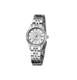 Argentina Megir Factory alta calidad señora relojes clásicos cadena de cerámica de lujo simple reloj de pulsera de cuarzo Lady relojes Suministro