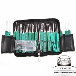 Оригинальный КЛом 32 шт отмычку инструмент улучшенный забрать набор слесарных инструментов Бесплатная доставка от