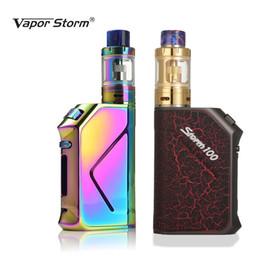 Cigarette électronique Vapor Storm V100 Storm100 3200mAh Batterie 100W TC Box Mod Sous Ohm Remplissage Supérieur 0.2ohm 2mL Vape Cigarette ? partir de fabricateur