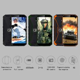 smartphone resistente a choque Desconto IP68 Impermeabile à prova de choque do telefone móvel 6500 mah 5,5