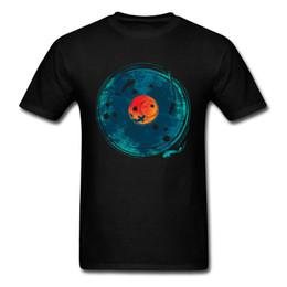 Son de l'eau T-shirt Art Designer T Shirt Hommes Tshirt Rétro Noir Bleu Hauts Koi Poisson Vêtements Amant Chanceux Anniversaire Cadeau Coton ? partir de fabricateur