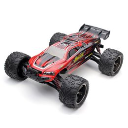 Wholesale Rc Scale Truck - 2017 New RC Cars 9116 1 12 Scale 2.4G 4CH Monster Truck Car Toy with 2 Wheel Driven Electric Racing Car Truggy High Speed