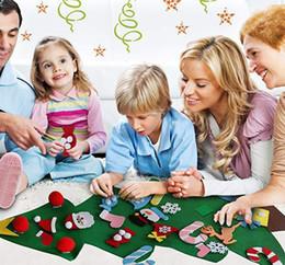 DIY Ile Pedant Süsler Noel Hediyeleri Noel Ağacı Keçe Yeni Yıl Kapı Duvar Asılı Xmas Dekorasyon Çocuklar Manuel Aksesuarları nereden baykuş kreş oda çıkartması dekor tedarikçiler