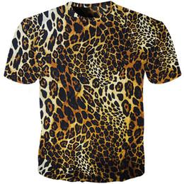 d893a3e3273103 Cloudstyle Leopard Print T Shirt Männer Frauen Lustige Tier Pelz Shirt  Camiseta 3D t-shirt Herren Casual Fitness T-shirts Tops Lion t-shirt rabatt  lustige ...