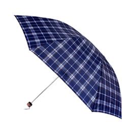 Wholesale high fashion umbrella - Women Men Umbrellas Compact three Folding High Quality Cheap Rain Travele Light Aluminium Fashion Hot Sale