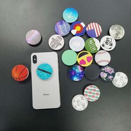 держатель для пальцев яблочного сотового телефона Скидка Универсальный держатель сотового телефона с синим пакетом реального 3M клей сцепление стенд 360 градусов держатель пальца