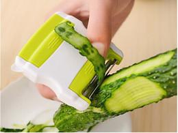 Küchenutensilien gadgets großhandel online-Großhandel 100pcs 3 in 1 Peeler Reibe Slicer Kochen Werkzeuge Gemüse Kartoffelschneider Küchengeräte Gadgets