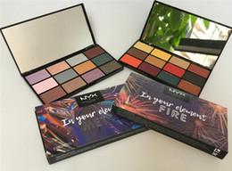 Drop NYX makeup Eyeshadow Palette nyx En tu elemento Fire earth metal 12 paletas de colores set Cosméticos Shimmer Beauty Mate Sombra de ojos 1PCS desde fabricantes