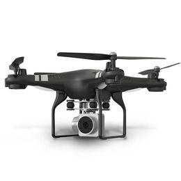 Quadcopter remoto online-Cámara RC Drone Helicóptero Juguetes de Control Remoto WiFi FPV Drone 0.3MP HD Cámara Quadcopter One Key Auto Return Altura Holding