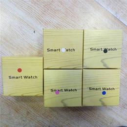 a1 montre intelligente Promotion Haute Qualité A1 Smartwatch Bluetooth Montres intelligentes Support SIM Carte TF Smart Montres Smart Strap Bracelet En Silicone Smartphone avec Paquet