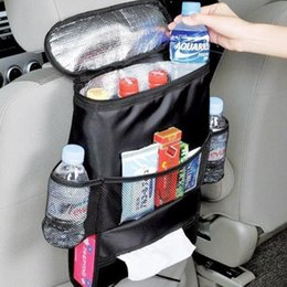 Wholesale Breast Holder - Car Cooler Chair Bag Travel Camping Organiser Insulated Lightweight Cooling Bag Drinks Holder Cooler Multi-Pocket Container