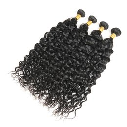 Wholesale virgin unprocessed curly hair - Brazilian Curly Hair Weave 4 Bundles 400g Virgin Italy Curl Human Hair Weave 100% Unprocessed Hair Weft Natural Color Free Shipping