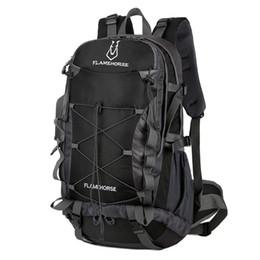 mochila trek Rebajas 50L Al aire libre mochila de camping hombre de montaña mujer senderismo bolsa de viaje caza pesca senderismo mochila táctica escalada mochila