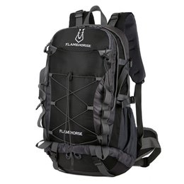 Рюкзаки для рыбалки онлайн-50L Outdoor Camping Backpack Mountain Man Woman Hiking Travel Bag Hunting Fishing Trekking Rucksack Tactical Climbing Backpack