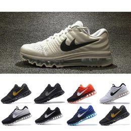 quality design f416d 0926f Nike Air Max 2017 A buon mercato per le donne degli uomini Air 2017 di  plastica KPU scarpe sportive di alta qualità scarpe da ginnastica  all aperto di marca ...