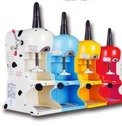 Argentina Máquina de máquina de afeitar de hielo comercial 110V 220v Máquina de hielo afeitada taiwanesa Máquina de helado de copo de nieve Máquina de helado eléctrica de afeitado Suministro