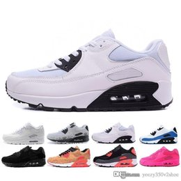 timeless design d32f8 12c41 Nike air max 90 airmax shoes Fashion Men Sneakers Classic Uomo donna Sport  Trainer Air Cushion Superficie traspirante Scarpe da corsa taglia
