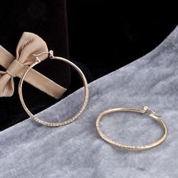 Wholesale imitation jewels - 2018 new Jewel ring earrings Alloy Ball Stud Earrings M*K earrings for woman famous luxury brand M*k letter stud Gold Plated earring