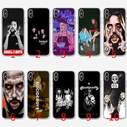 Coque TPU en silicone souple Suicide Boys pour iPhone X XS Max XR 8 7 Plus 6 6 Plus 5 5S SE Couverture ? partir de fabricateur