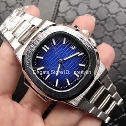 Wholesale Mens Watch Brands List - New Listing Mechanical Brand Mens Luxury watches Imported Automatic Movement Top 316L Stainless Steel Case Nautilus