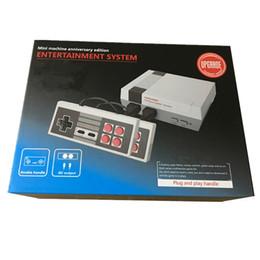 Новое прибытие мини-ТВ видео портативный игровой консоли развлекательная система может хранить 600 игры для NES игры PALNTSC DHL бесплатно от Поставщики новые игровые системы