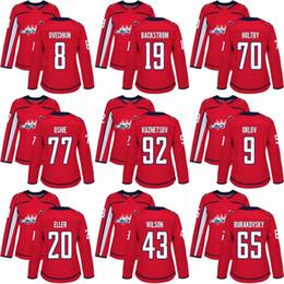 women 2 Matt Niskanen 29 Christian Djoos 43 Tom Wilson 9 Dmitry Orlov 65  Andre Burakovsky Washington Capitals red hockey jersey 43 tom wilson on sale db874c9fc