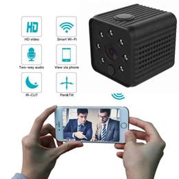 piccola telecamera interna ip Sconti Telecamera senza fili domestica, Sistema di sorveglianza di sicurezza IP WiFi Mini telecamera P2P Full HD 1920 * 1080P Telecamera da interno piccola sicurezza DV DVR PQ293