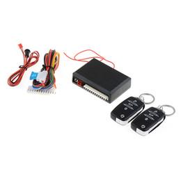 Canada Universal Car Télécommande centrale Kit de verrouillage de porte de verrouillage sans clé Système d'entrée Alarmes de voiture de sécurité Offre