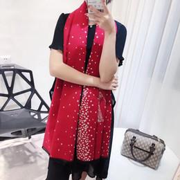 2019 estola bufanda de diseñador de la marca de lujo Disponible 2018 bufanda de cachemira estilo escudo clásico bufandas clásicas de impresión clásica en rojo y azul 180 * 65 cm + caja