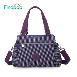 Wholesale Casual Dress For Large Women - Findpop Floral Printed Handbag Fashion Casual Nylon Crossbody Bag For Women 2017 Large Capacity Waterproof Shell Shoulder Bags