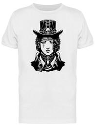 Image de style de robe d'hommes en Ligne-T-shirt pour fille habillé style Steampunk pour hommes