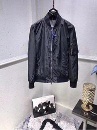 Wholesale New Brand Fashion Outwear - 2018 American style new fashion luxury brand casual men's jackets men outwear zipper coat lattice baseball spring coats M-XXL