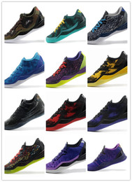 meet e2cf3 7bb3d Multicolor What the kobe 8 VIII System Top Basketball Shoes for Cheap  Classic KB 8s Mamba Assassin Easter Master Sports Sneakers Size 40-46