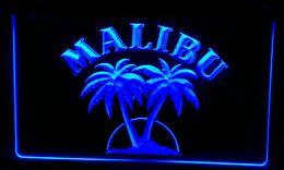 Wholesale Rum Signs - LS256-b Malibu Rum Bar Pub Neon Light Sign Decor Free Shipping Dropshipping Wholesale 8 colors to choose