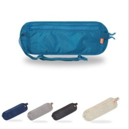 Wholesale College Wallets - Outdoor Waist Bag High Quality Travel Waist Pouch Belt Money Wallet Bags Passport Holders Change Safe Strap
