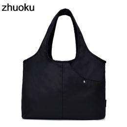 Women Shoulder Bag Luxury Handbag Designer Nylon Tote Beach Casual Tote  Female Shopping Top-handle Purse Sac Femme Bolsa Feminia Y18102604 b417643ffcb8d