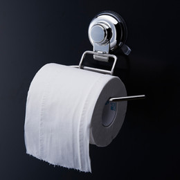 Wholesale Tissue Paper Wall Box - 304 Stainless Steel Roll Towel Tissue Paper Holder Toilet Tissue Boxes Set Bathroom Accessories Wall Mount